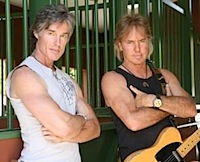 Peter Beckett and Ronn Moss 2008